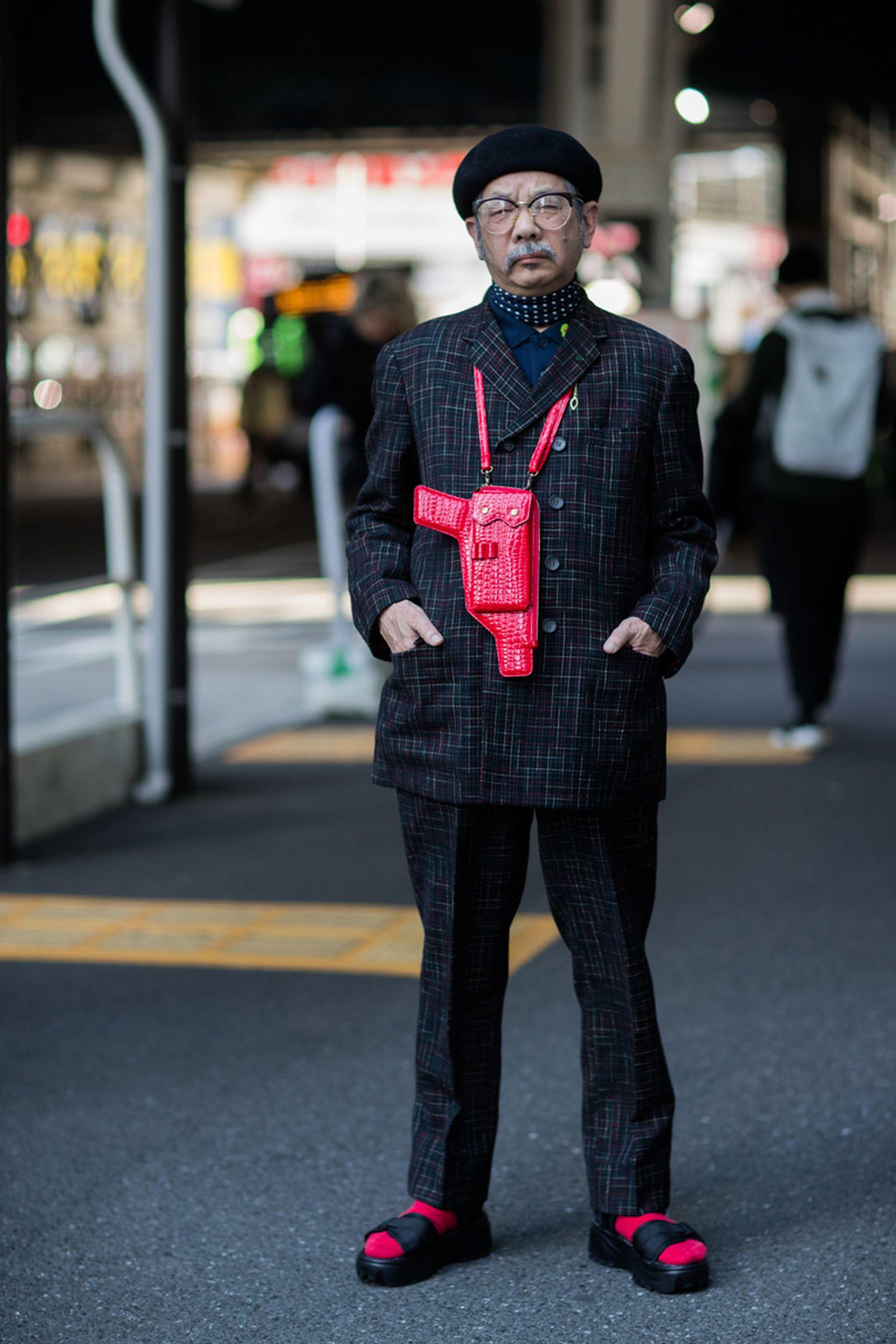 4tokyo fashion week street style