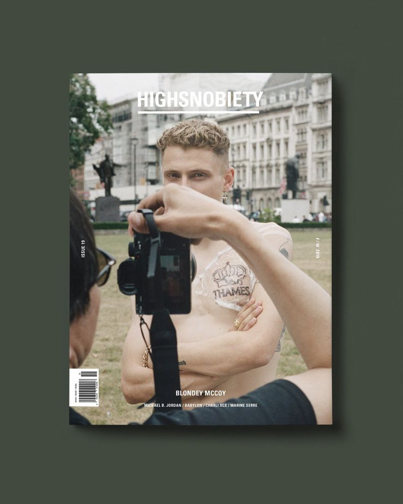 Highsnobiety Magazine Issue 19: Blondey Edition