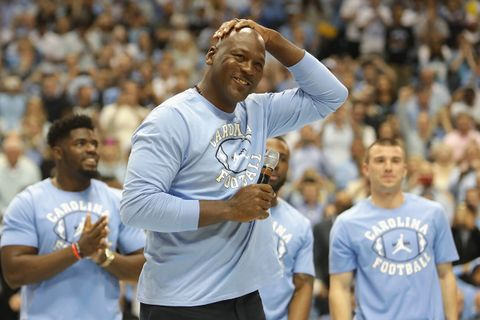 the latest e8ea1 8acd5 Michael Jordan Gives Out Free Air Jordans to Hurricane Florence Victims