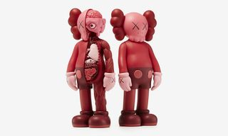 """KAWS Is Re-Releasing His """"Blush"""" Companion Figures for Valentine's Day"""