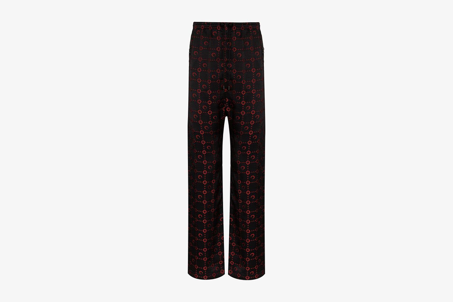 Crescent Moon & Star Print Trousers