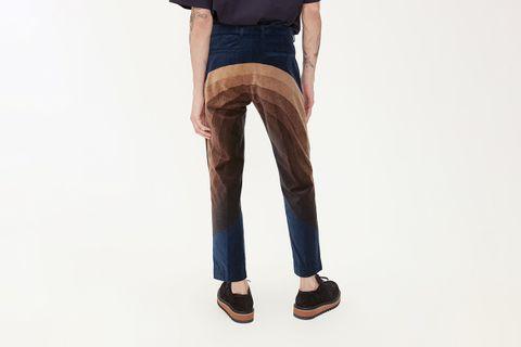 Priddy Short Velvet Trouser