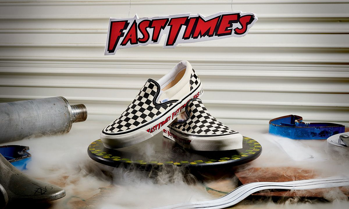 Fast Times at Ridgemont High' Vans Slip-Ons: Official Release Info