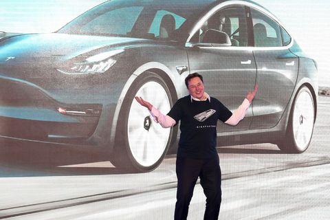 Elon Musk Tesla presentation