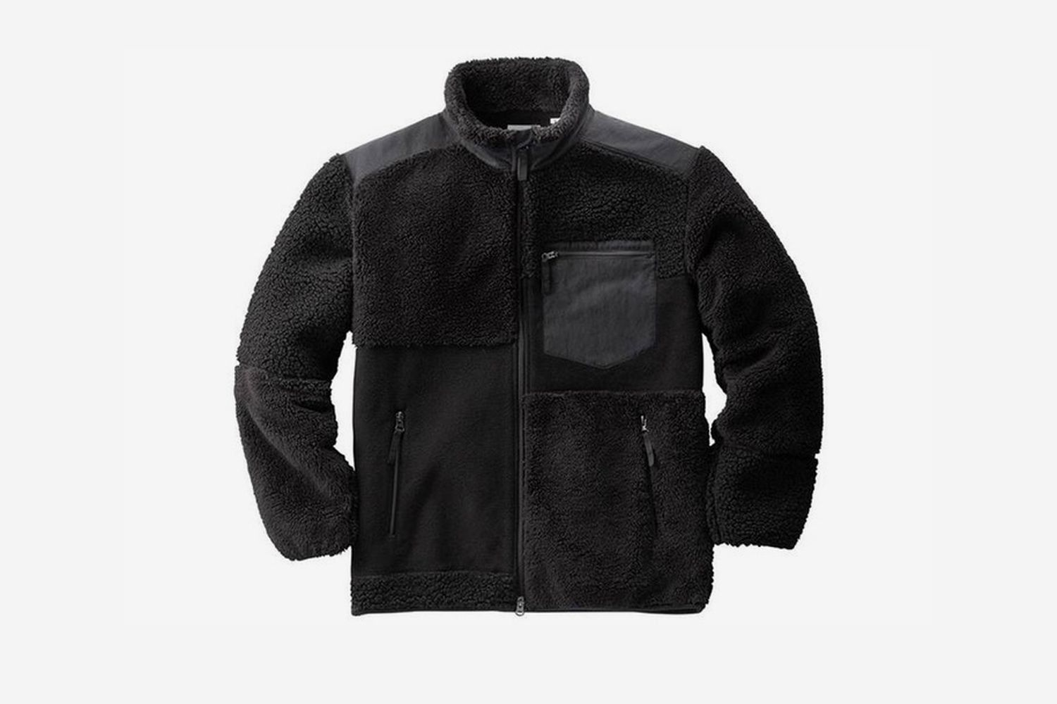 Fleece Combination Jacket