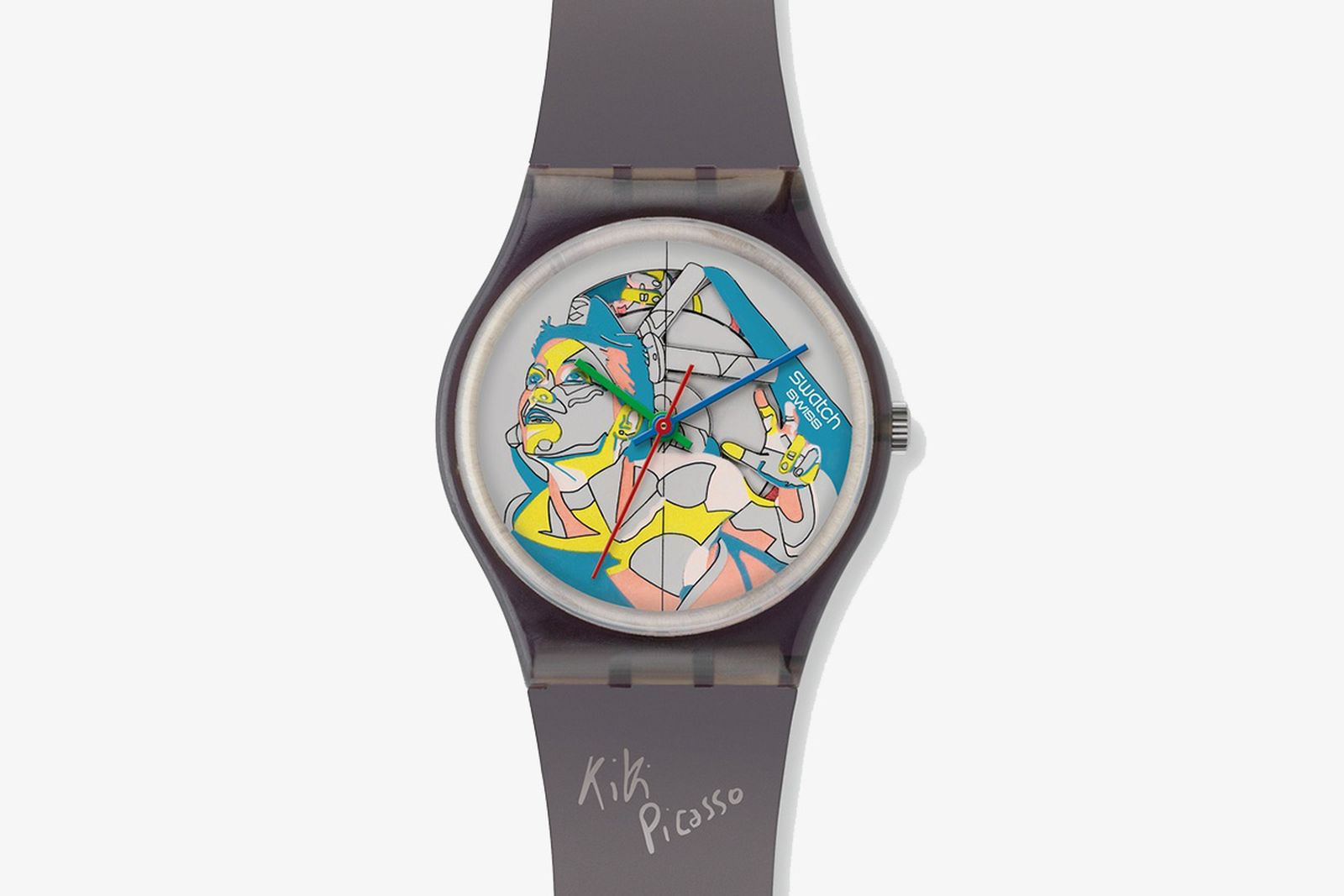 swatch collaboration history Amanda Lepore Hodkinee Kiki Picasso