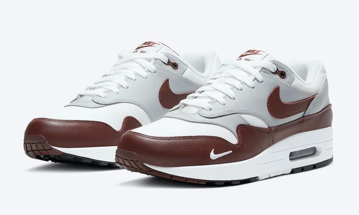 Nike Air Max 1 Brown Leather Mini-Swoosh: Official Images & Info