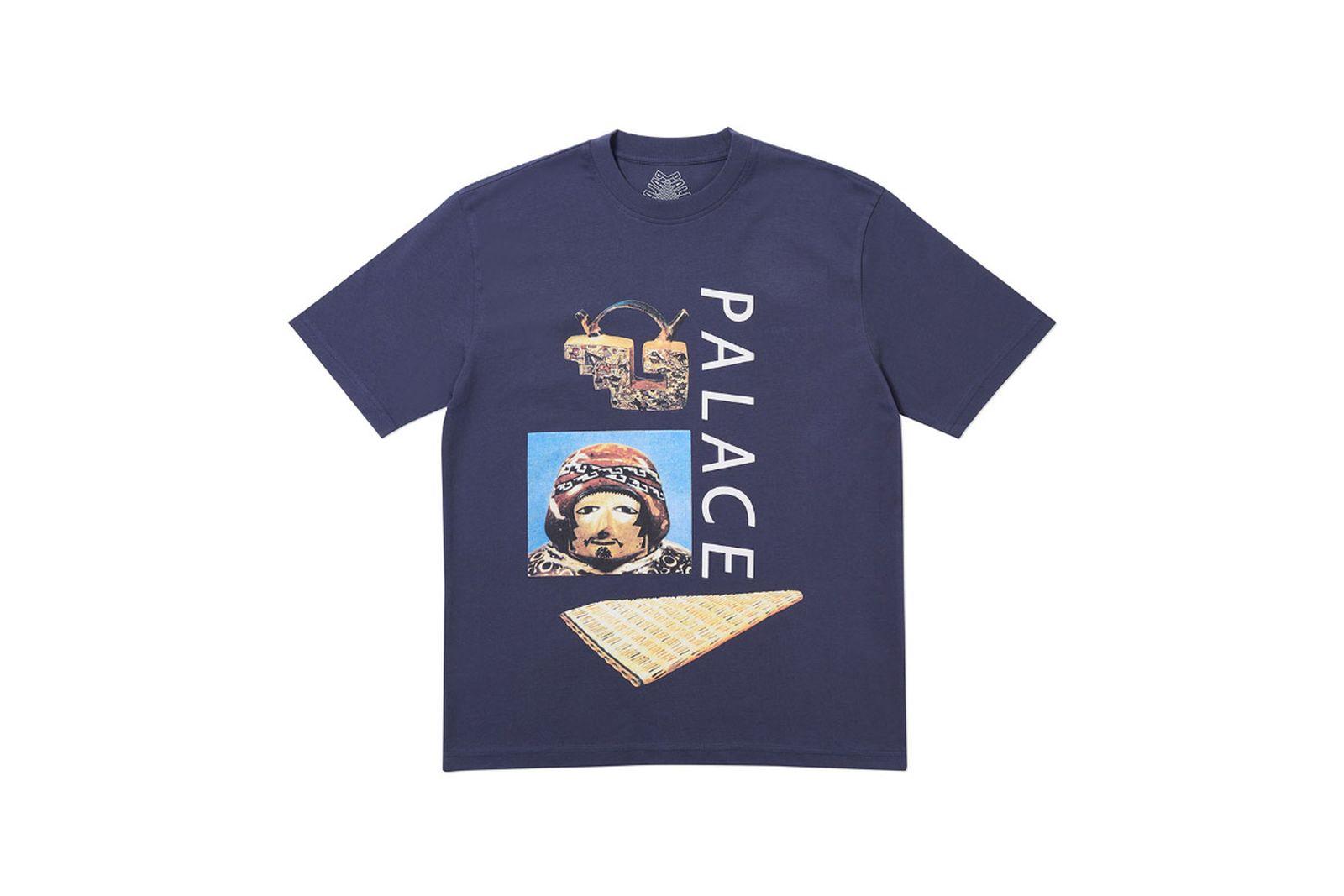 Palace 2019 Autumn T Shirt Tactic navy