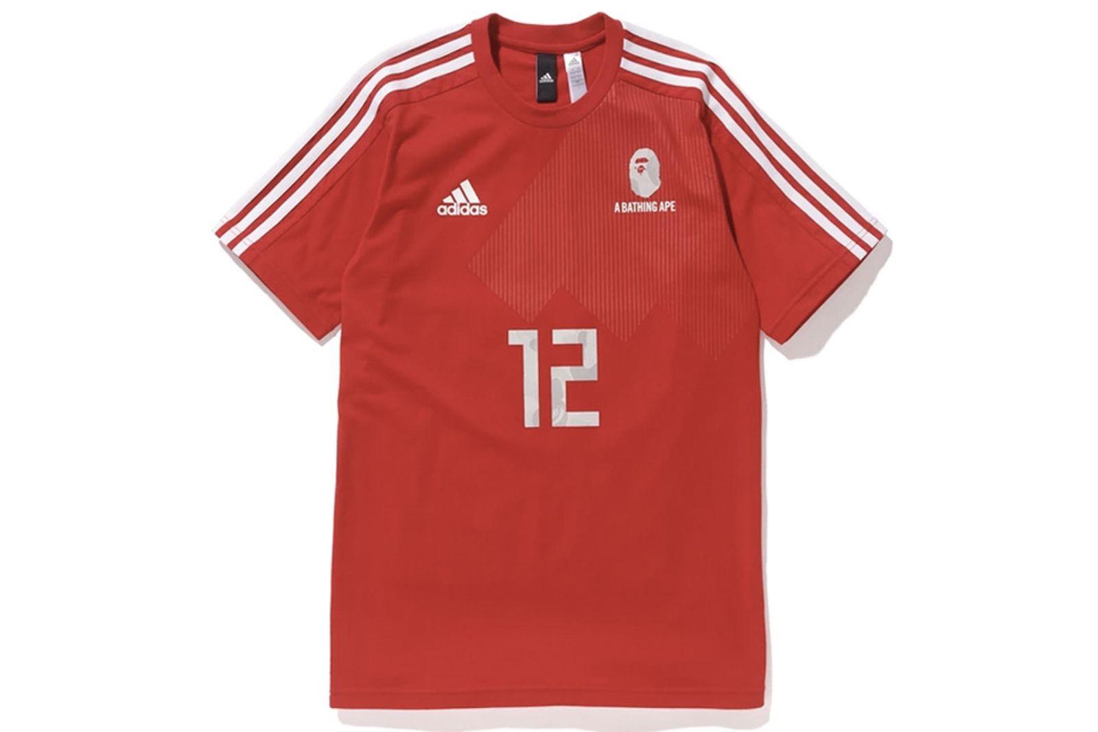 bape adidas football kit 2018 FIFA World Cup adidas Winning Collection