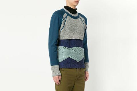 Crochet Panel Jumper