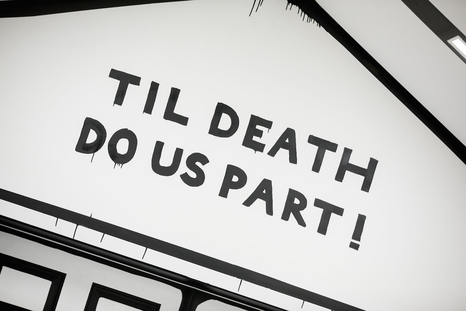 joshua vides til death us part installation Til Death Do Us Part