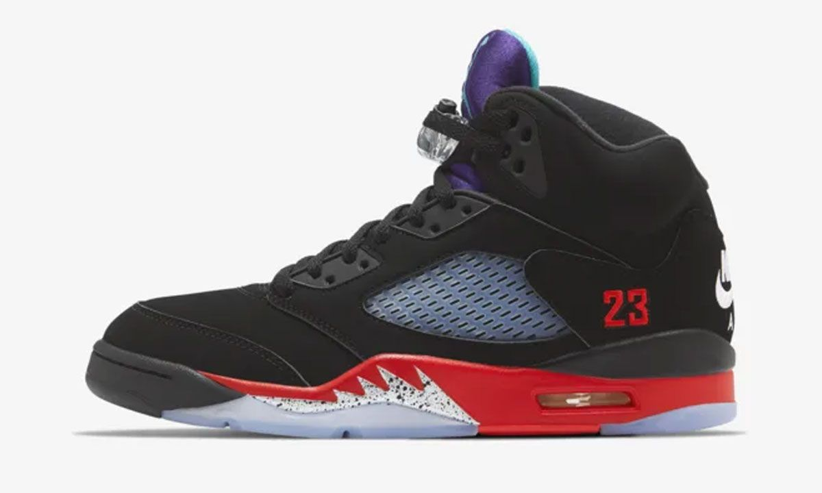 "Nike Air Jordan 5 ""Top 3"": Official Images & Release Information"