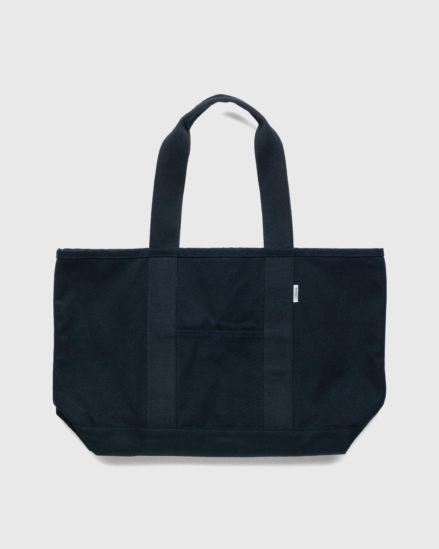 Highsnobiety – Heavy Canvas Large Shopper Tote Black - Image 2