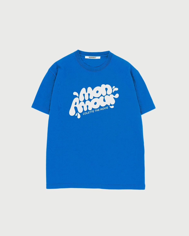 Colette Mon Amour — Water Bar T-Shirt Blue - Image 1