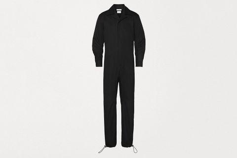 Jumpsuit Long Sleeve in Crisp Cotton