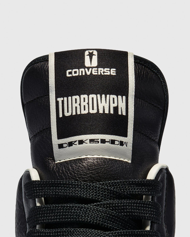 Converse x DRKSHDW – TURBOWPN Black - Image 6