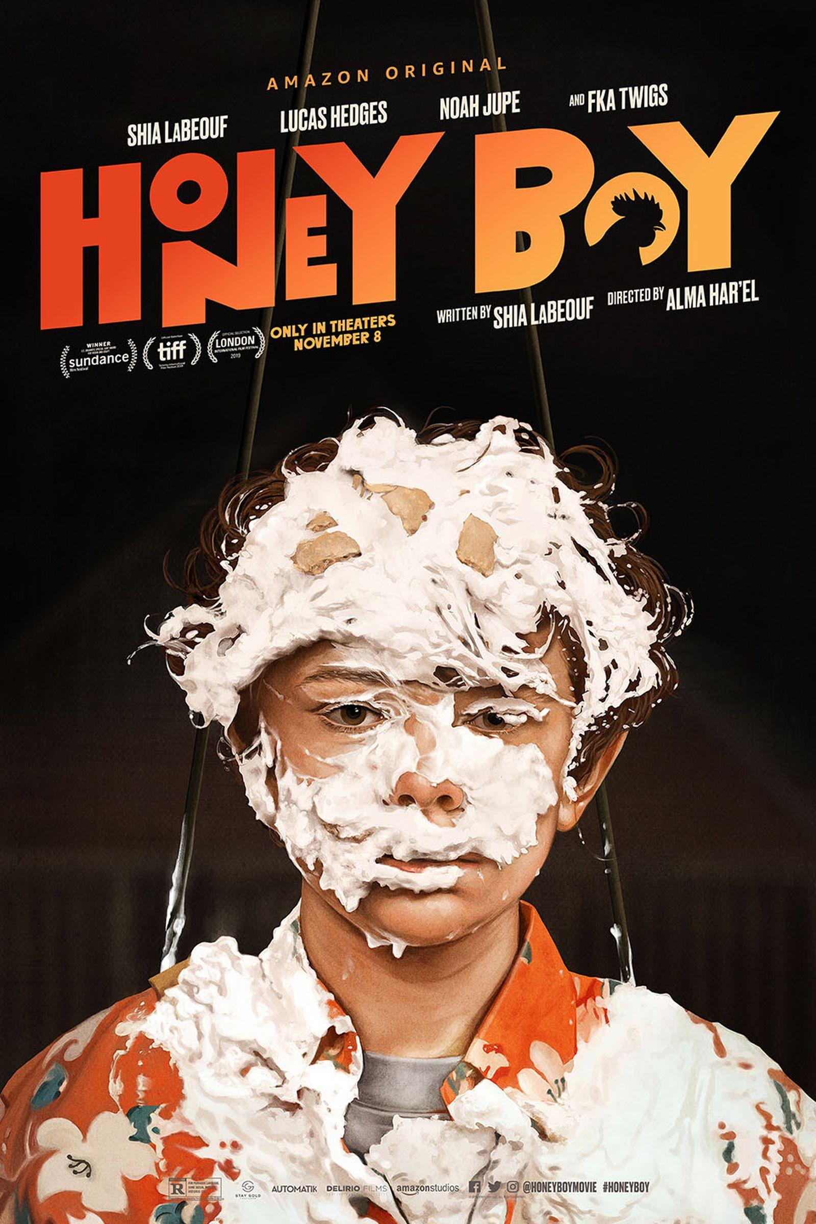 The original 'Honey Boy' studio poster.