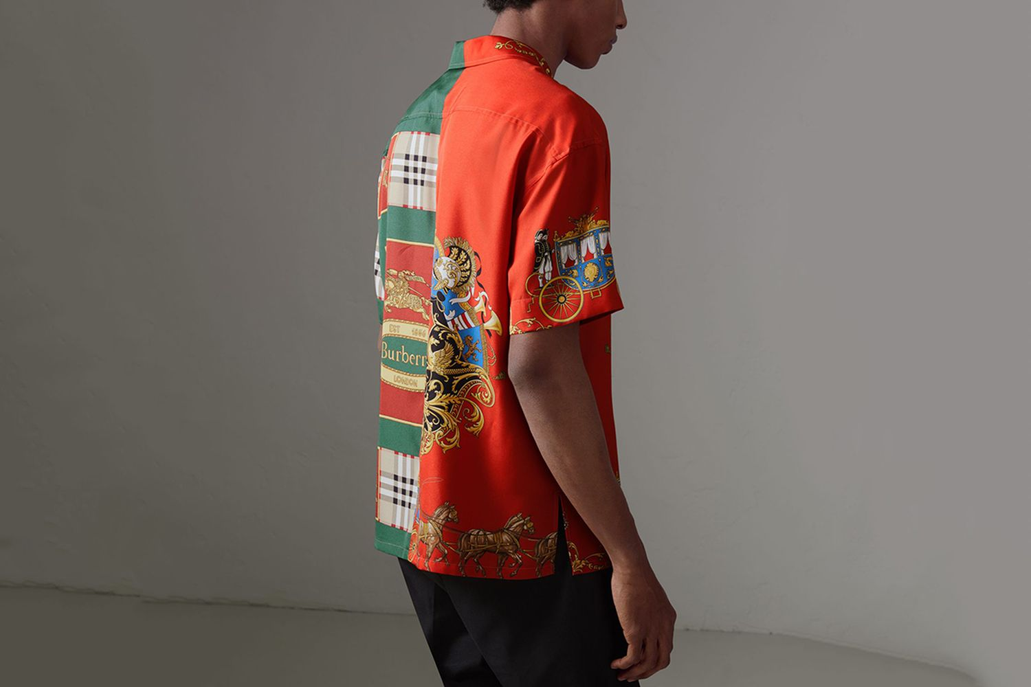 Archive Scarf Print Shirt