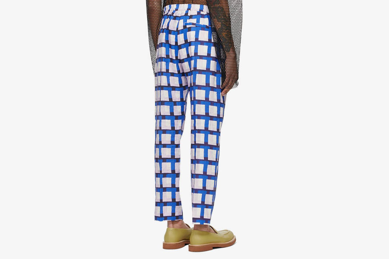 Len Lye Edition Graphic Trousers