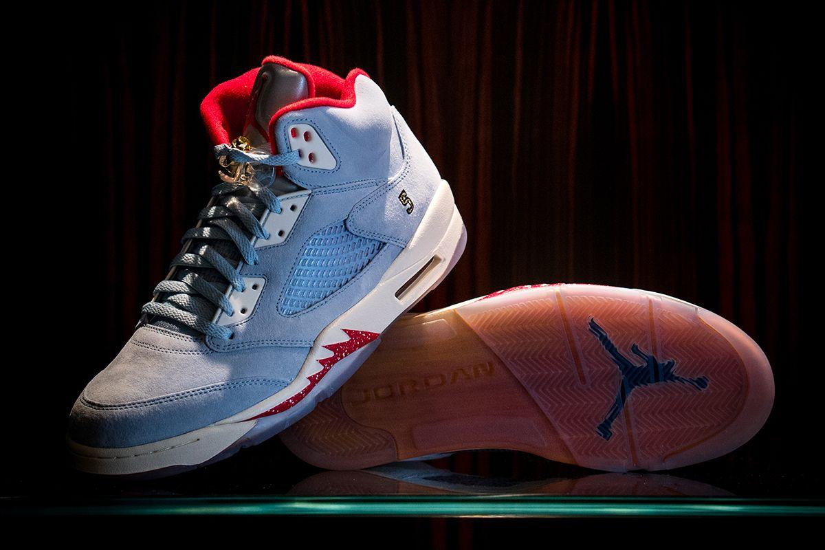 17b0a40c42691c This Air Jordan 5 Is Inspired by Michael Jordan s Trophy Room