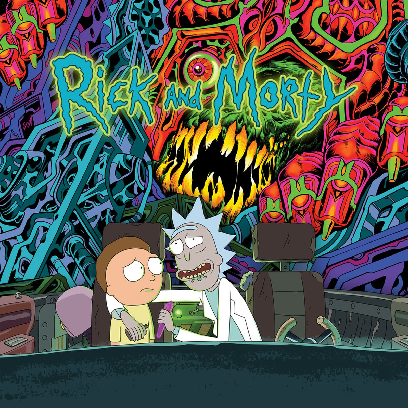 rick and morty soundtrack album sub pop