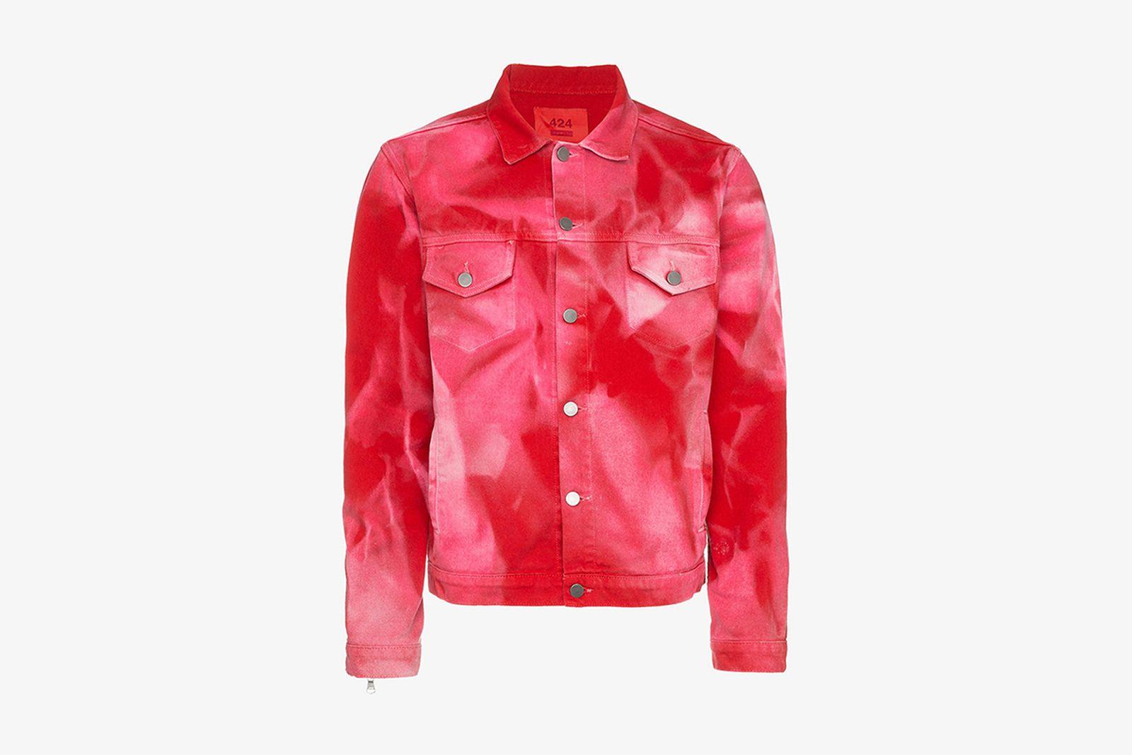 Browns Fashion 424 Fairfax X Armies Bleach Trucker Jacket ARMES tie dye
