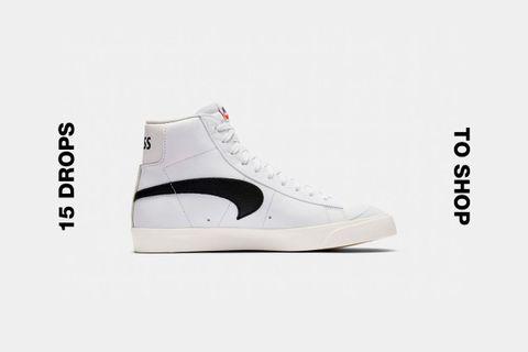slam jam nike blazer mid class 1977 best drops buy Converse GOLF Le FLEUR* Nike Blazer Mid 77 OFF-WHITE c/o Virgil Abloh