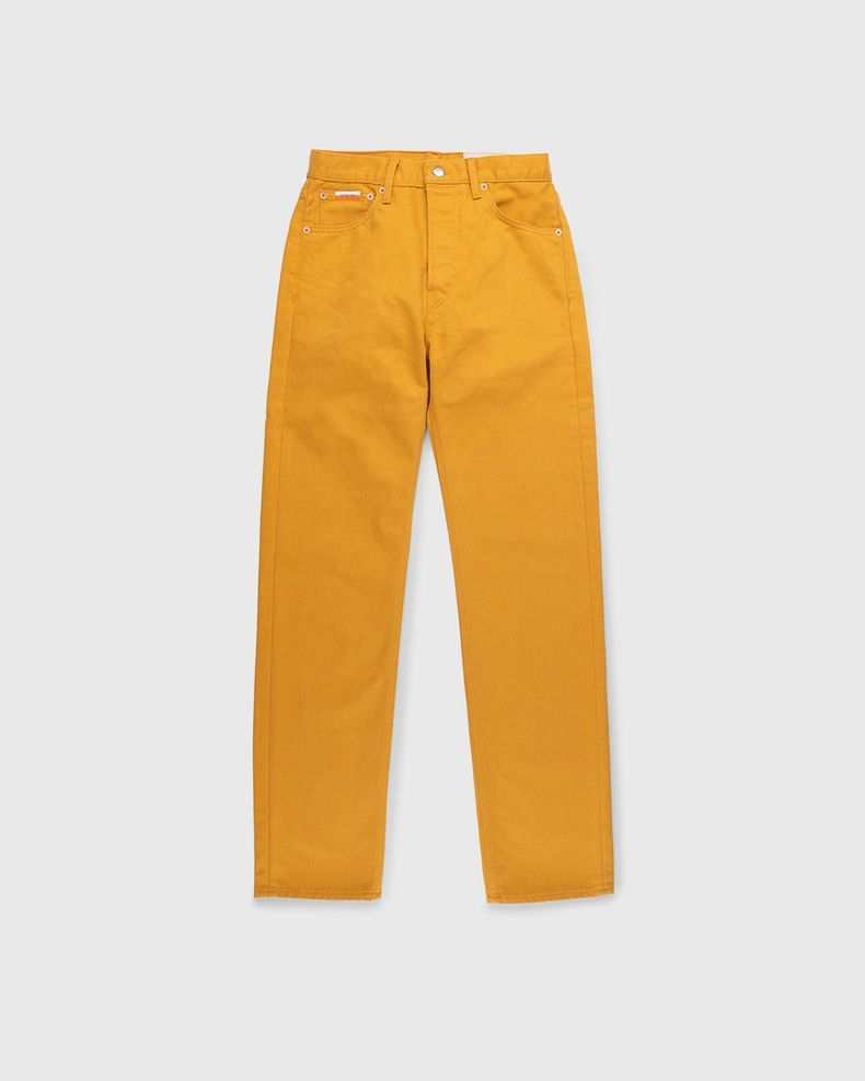 Heron Preston for Calvin Klein - Womens 90s Fit Jeans Radiant Yellow