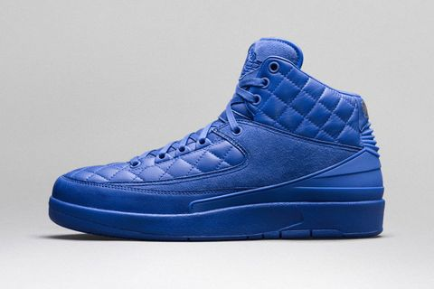 "best authentic 43049 d7d33 Just Don x Nike Air Jordan 2 ""Quilted"" ""Bright Blue"""