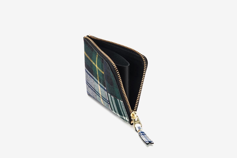 Tartan Patchwork Wallet