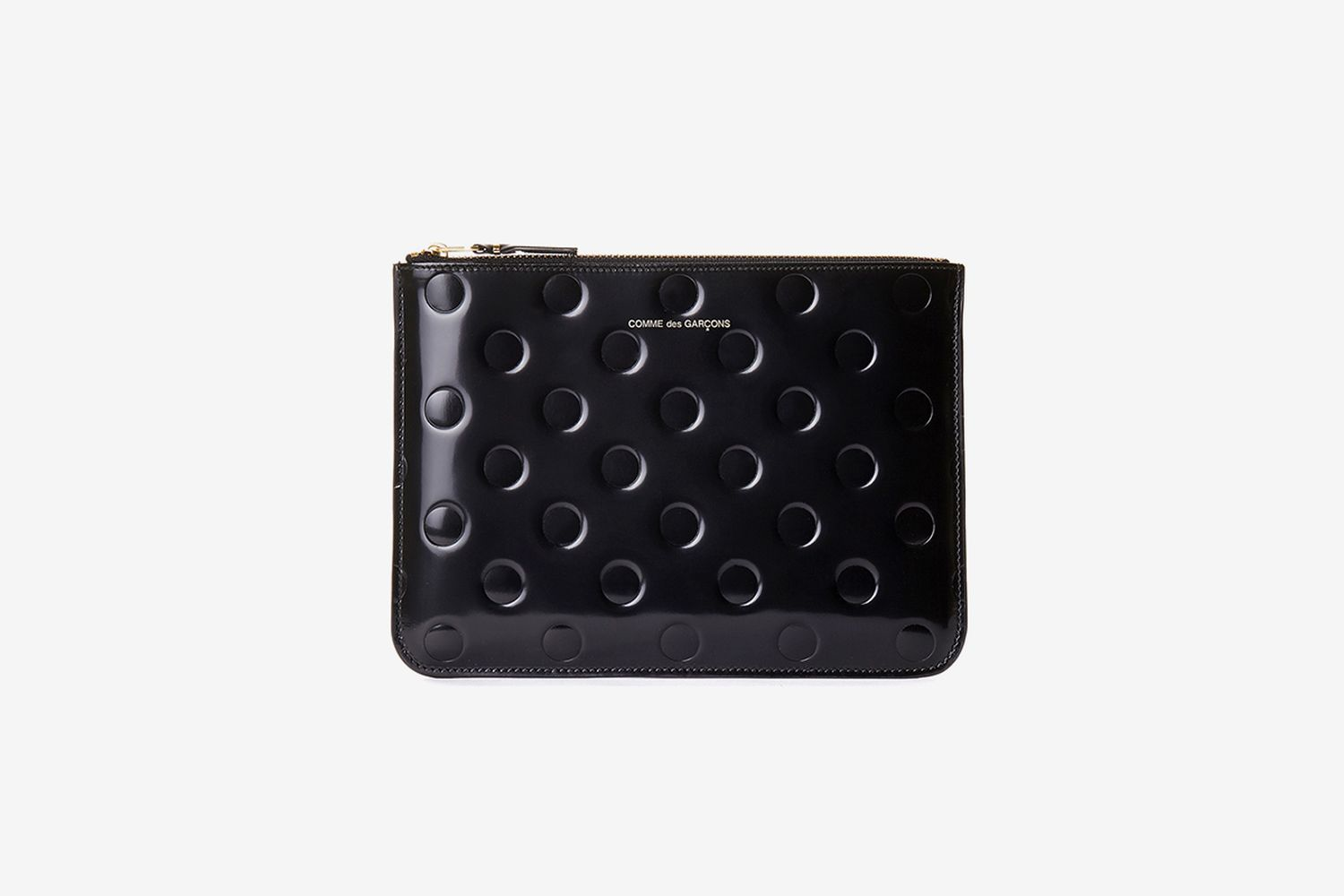 Dots Embossed Big Pouch