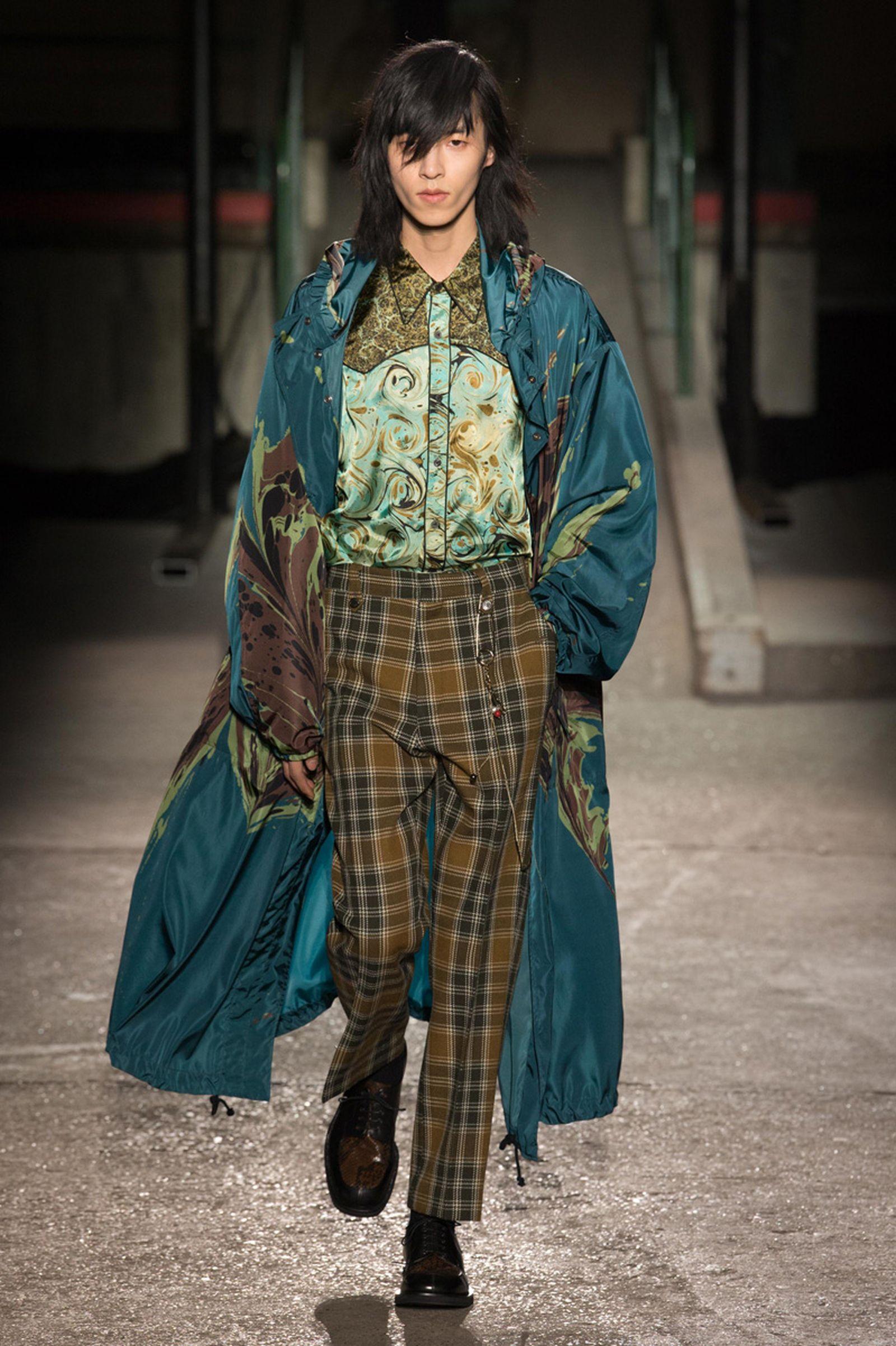 dries van noten AW18 19 look035 fashion week 2018 paris fashion week runway