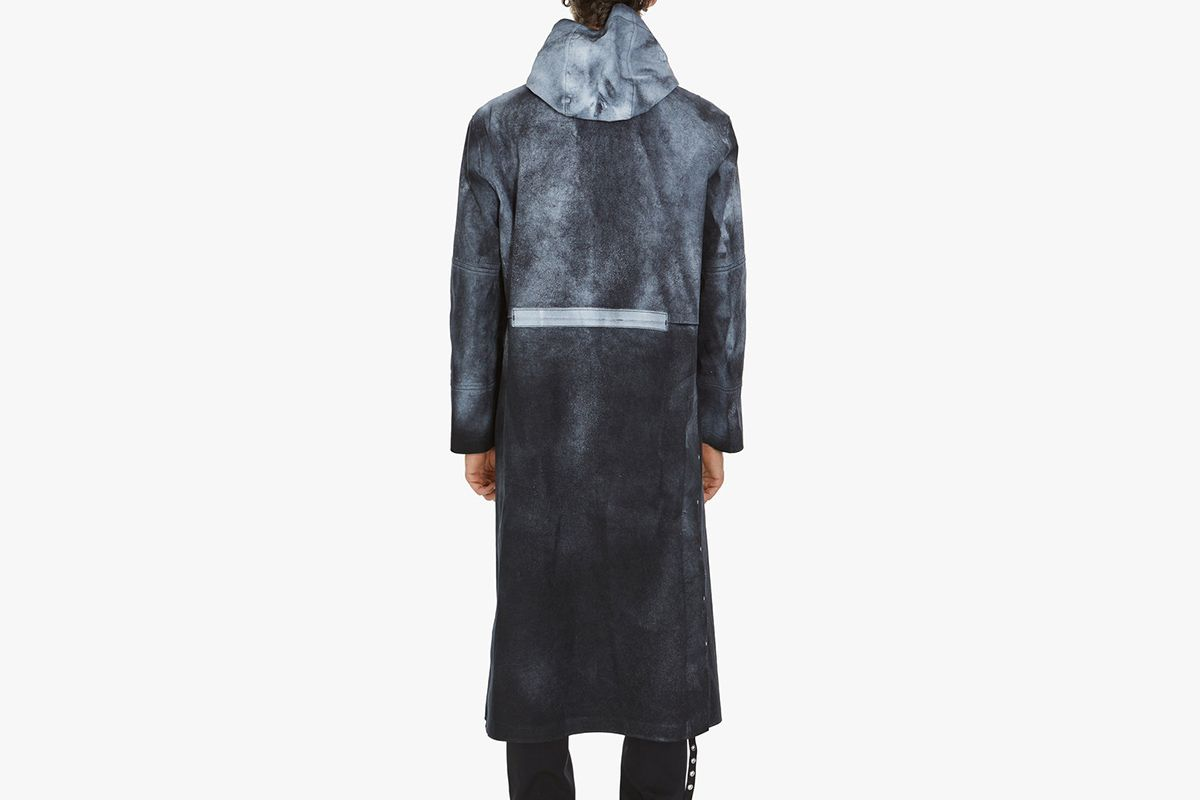 Treated Hooded Coat