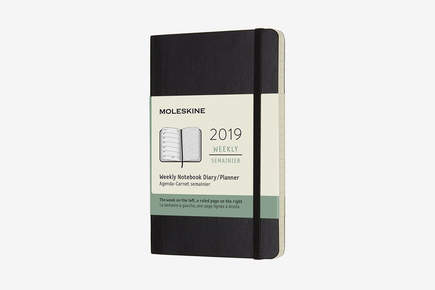 Classic Soft Cover 2019 12 Month Weekly Planner
