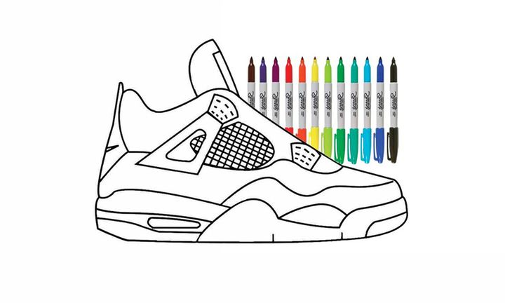 Nike Air Jordan 4 diy