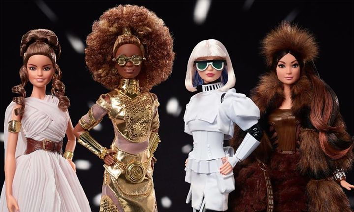 Star Wars Barbies