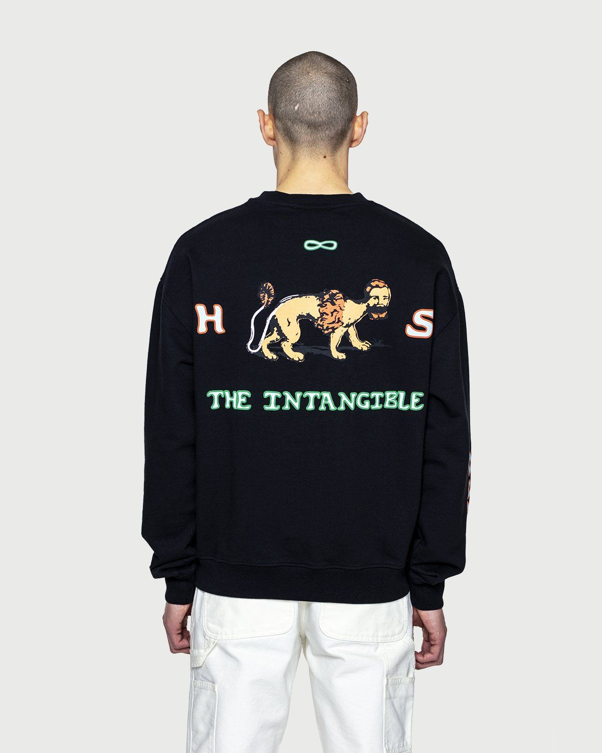 Inner Life by Highsnobiety - The Intangible Sweatshirt Black - Image 8