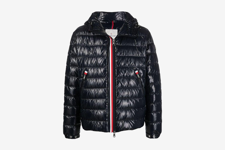 Wet-Look Padded Jacket