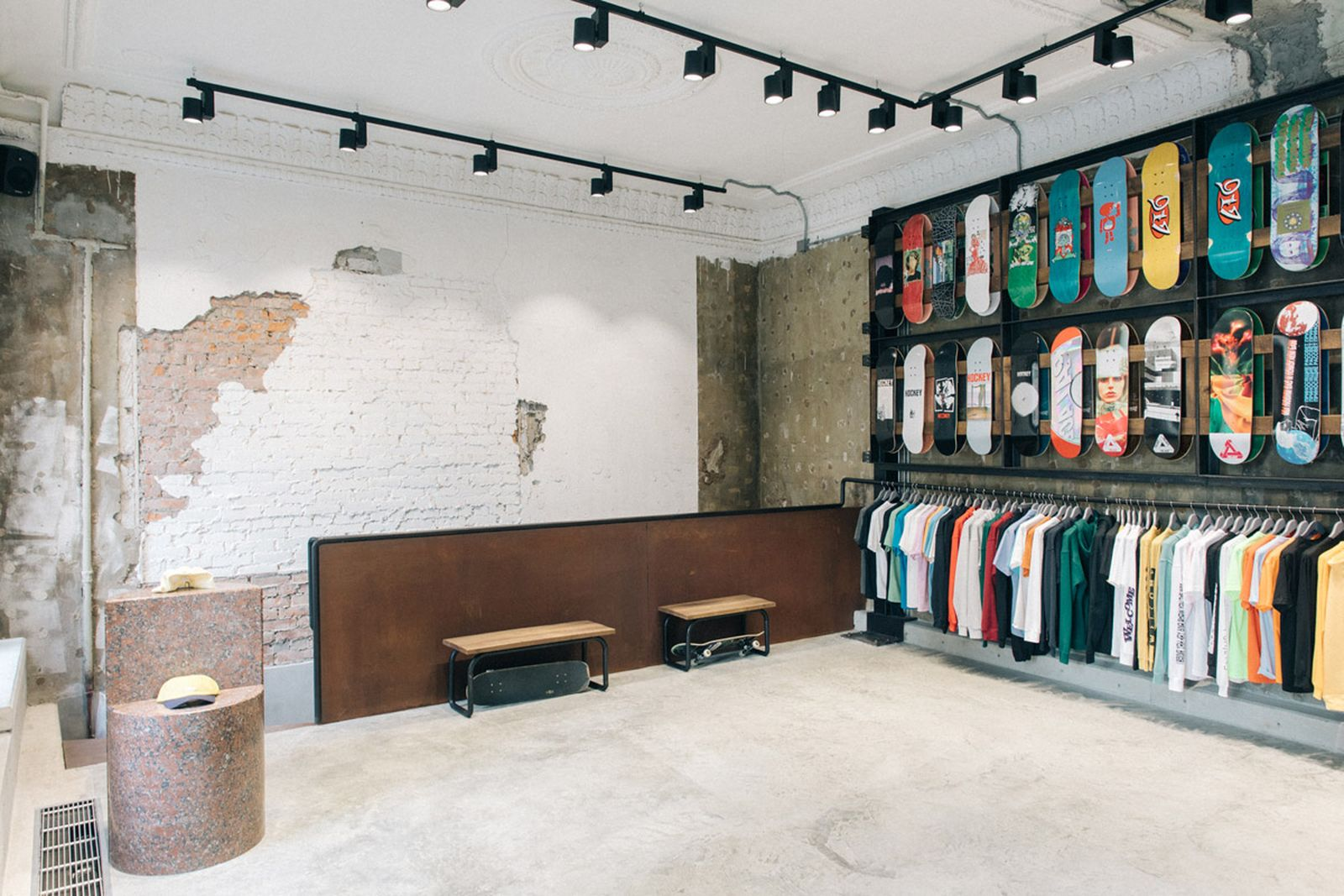 russia first skate boutique oktyabr moscow ОКТЯБРЬ