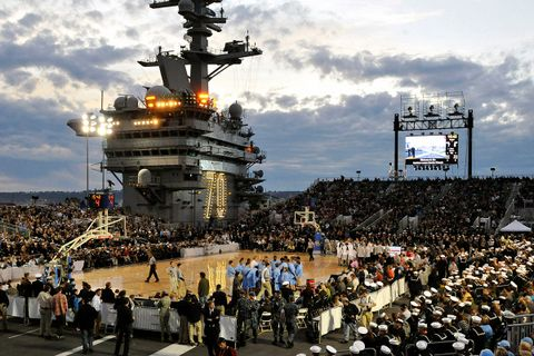 Should March Madness Games Be Played On Aircraft Carriers ...