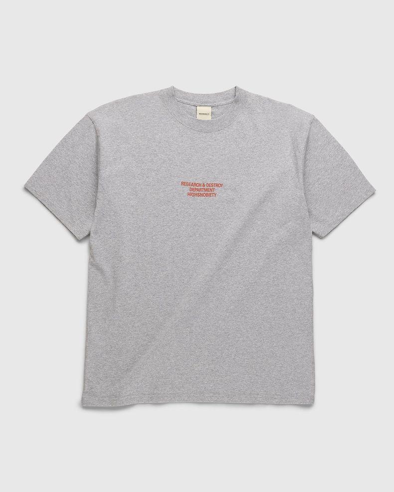 Highsnobiety – Werkstatt T-Shirt Grey
