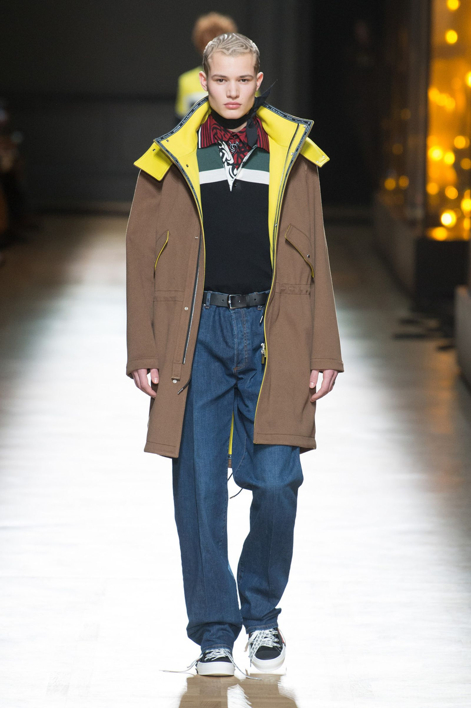 DIOR HOMME WINTER 18 19 BY PATRICE STABLE look33 Fall/WInter 2018 runway