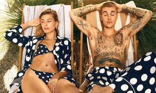 Justin & Hailey Bieber on the Cover of 'Vogue' March 2019 Issue