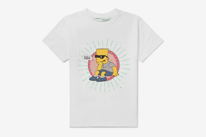 Bart Simpson Printed T-Shirt