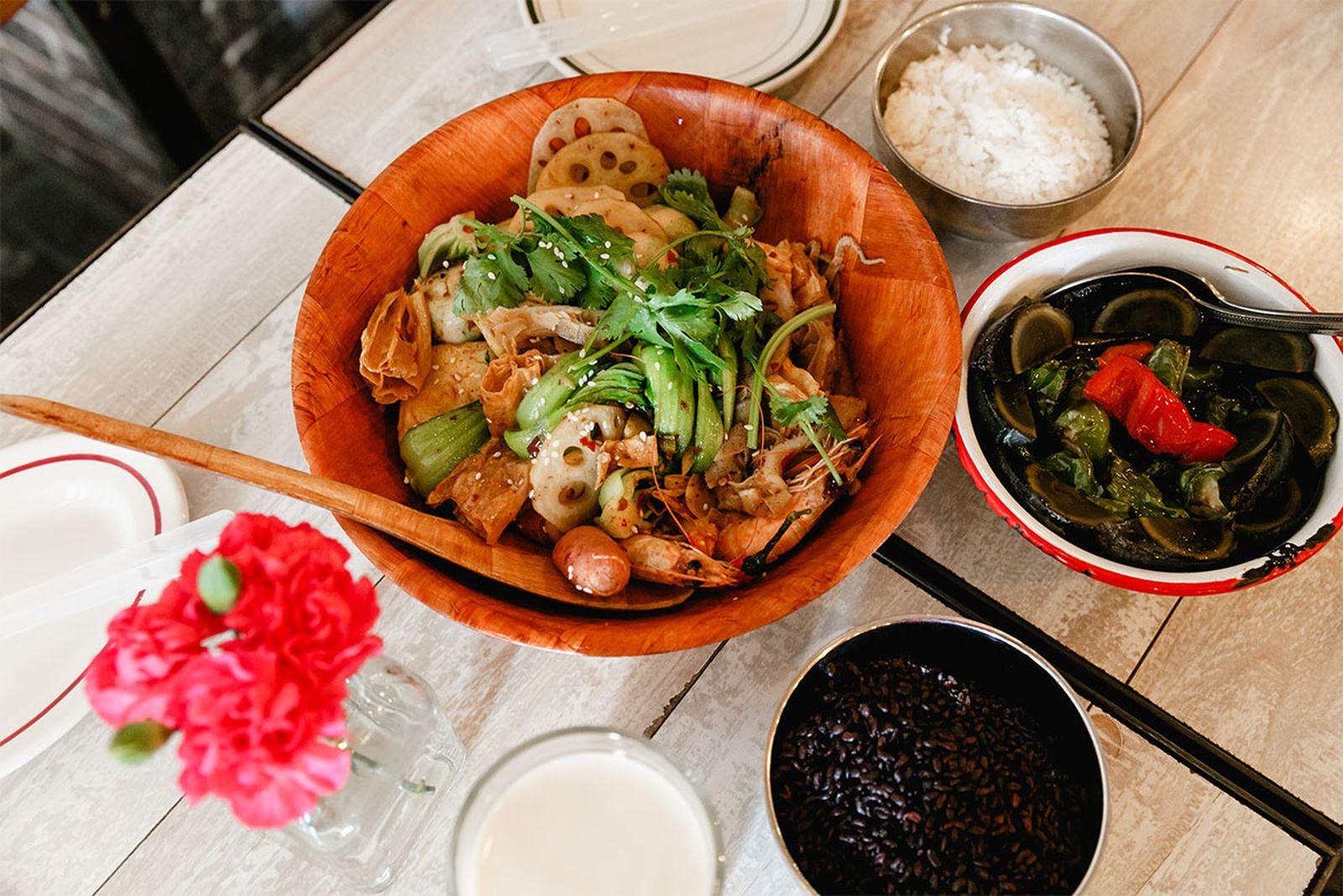 nyc mid range restaurants mala project AMEX american express platinum food & drink