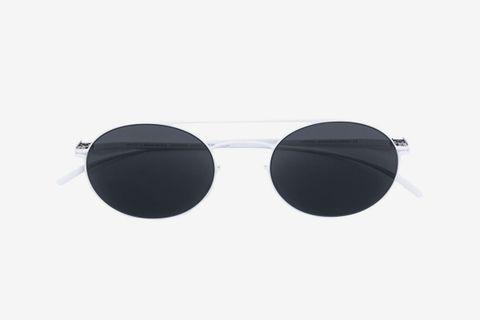 Classic Round-Frame Sunglasses