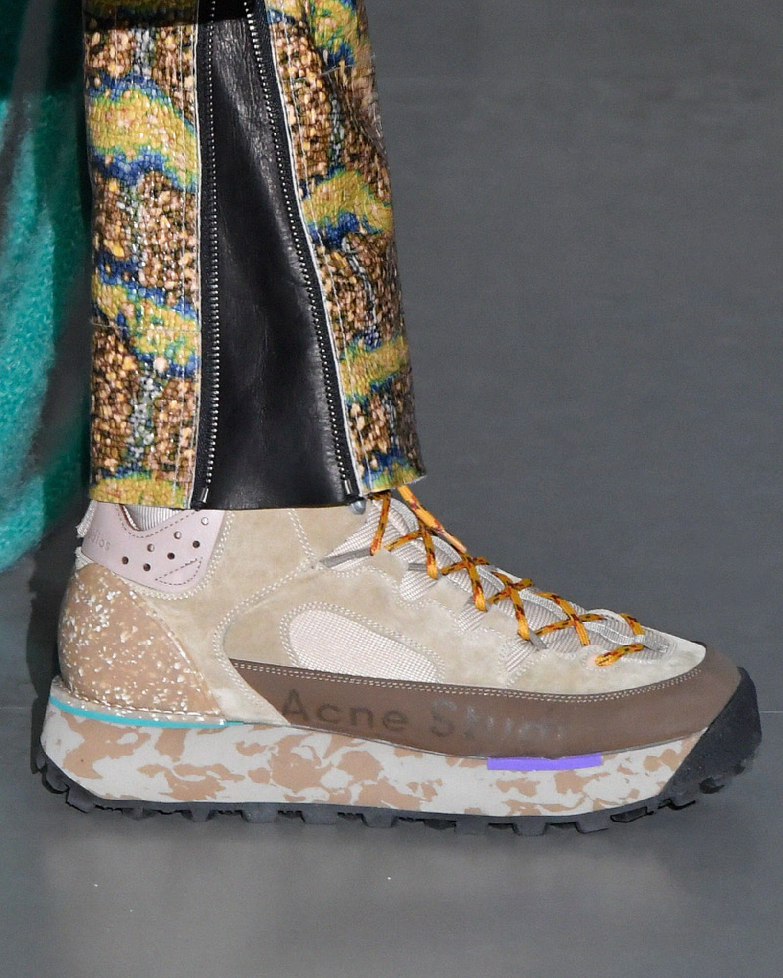 fashion week fw19 sneaker trends roundtable LFW pfw