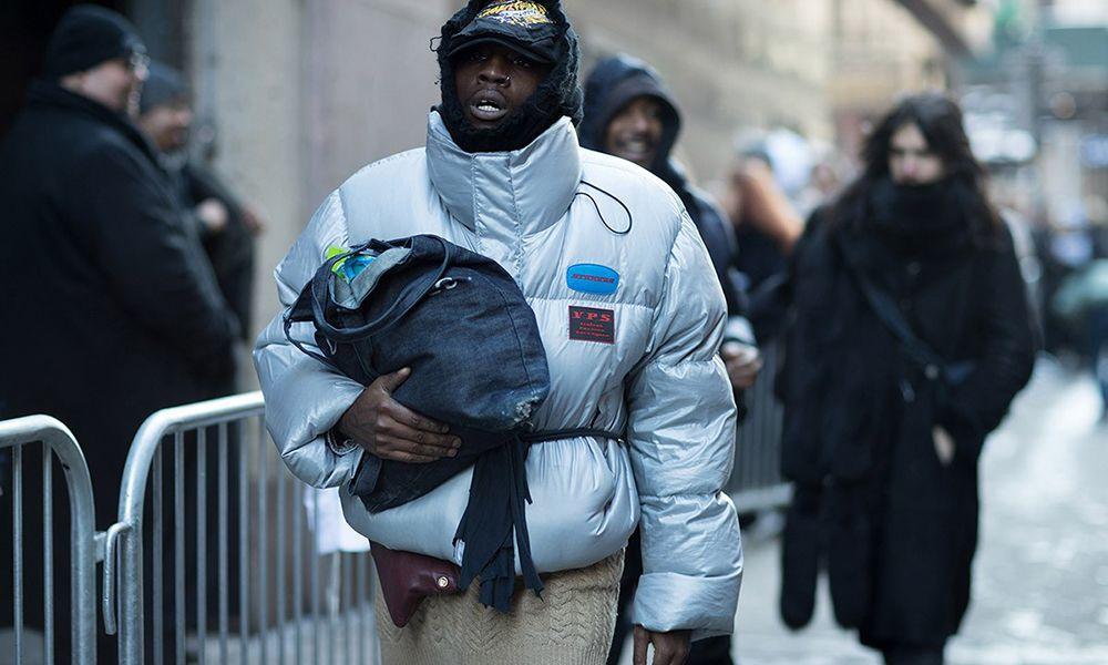 New Look Mens OOS Entry Puffer Coat