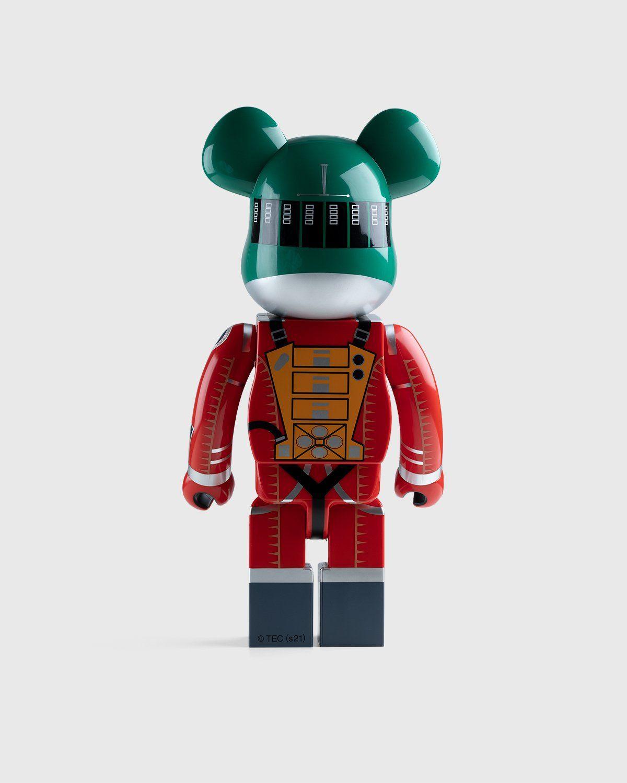 Medicom Be@rbrick – Space Suit Green Helmet & Orange Suit 1000% - Image 3