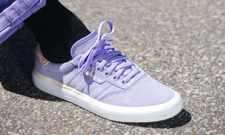 Nora Vasconcellos x adidas 3MC purple